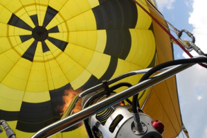 Vol en montgolfière - Takamaka