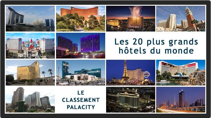 plus grands hôtels du monde