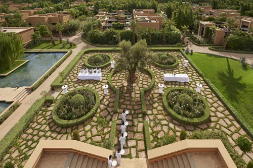 Mandarin Marrakech jardins