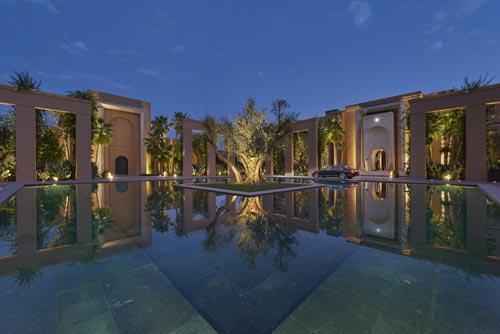 Mandarin Marrakech extérieur