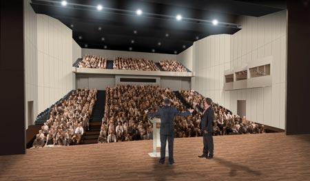 Auditorium Cité des Congrès Valenciennes