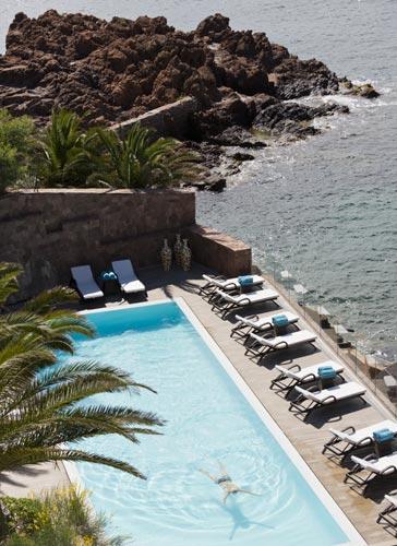 Tiara Miramar piscine
