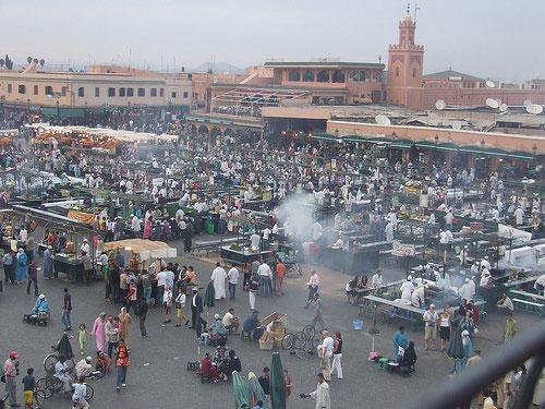 Place Jemaa el-Fna Marrakech