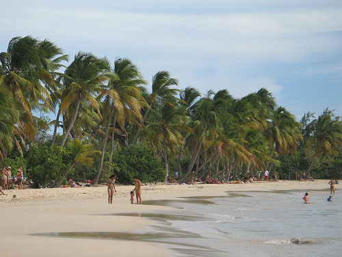 plage en Martinique