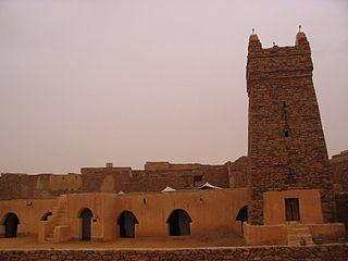 Anciens ksour de Ouadane, Chinguetti, Tichitt et Oualata