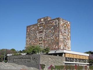 Campus central de la cité universitaire de l'Universidad Nacional Autonoma de Mexico