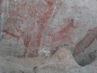 Peintures rupestres de la Sierra de San Francisco