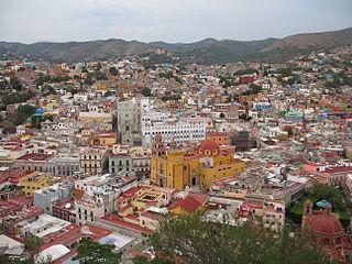 Ville historique de Guanajuato et mines adjacentes