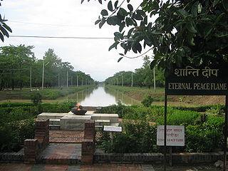 Lumbini, lieu de naissance du Bouddha