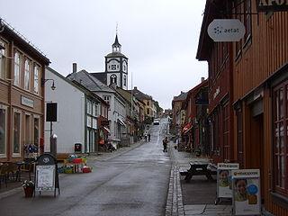 Ville minière de Roros