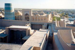 Patrimoine historique Ouzbékistan