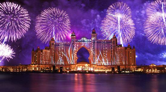 inauguration Atlantis Dubai