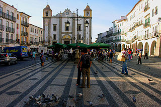 Centre historique d'Evora