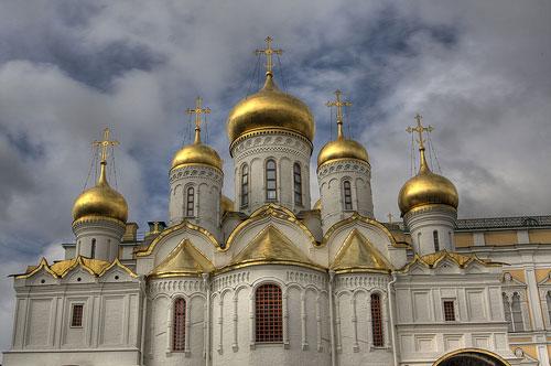 Cathédrale de l Annonciation Moscou