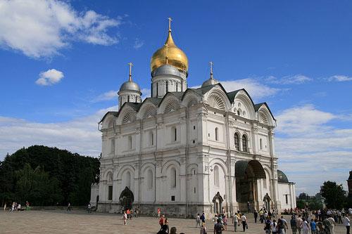Cathédrale de l Archange-Saint-Michel Moscou