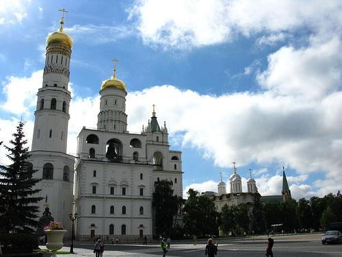 Clocher d Ivan le Grand Moscou