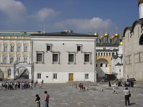 Place des Cathédrales Moscou
