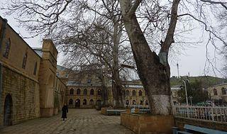 Citadelle, vieille ville et forteresse de Derbent