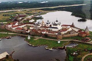 Ensemble historique, culturel et naturel des îles Solovetsky