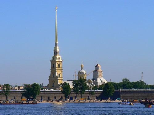Cathédrale Pierre-et-Paul St-Pétersbourg