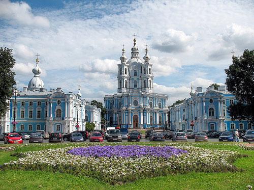 Cathédrale Smolny St-Pétersbourg