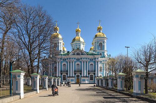 Cathédrale Saint-Nicolas-des-Marins St-Pétersbourg