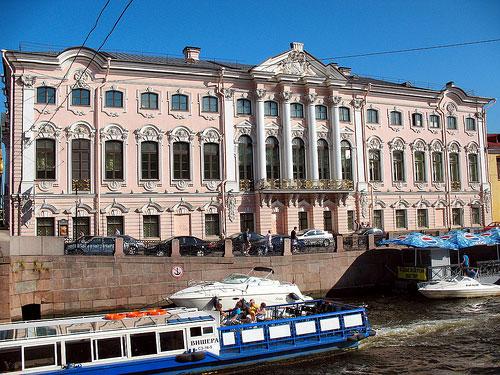 Palais Stroganov St-Pétersbourg