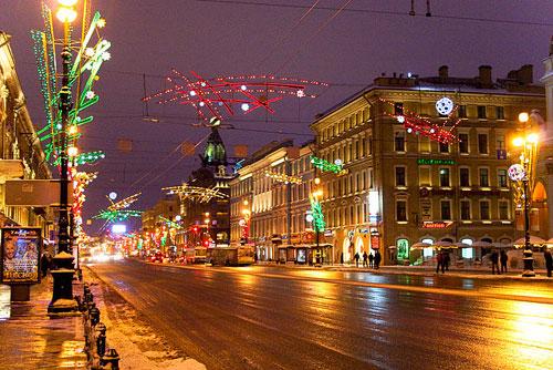 Perspective Nevski St-Pétersbourg