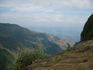 Hauts plateaux du centre de Sri Lanka