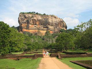 Ville ancienne de Sigiriya