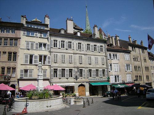 Place du Bourg-de-Four Genève