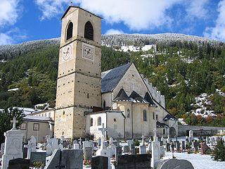 Couvent bénédictin Saint-Jean-des-Sœurs à Müstair