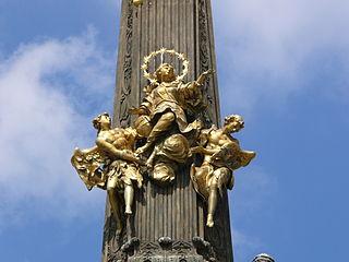 Colonne de la Sainte Trinité à Olomouc