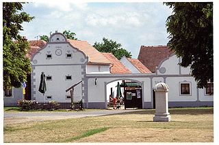 Réserve du village historique d'Holasovice