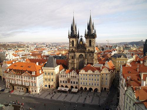Eglise Notre-Dame de Tyn Prague