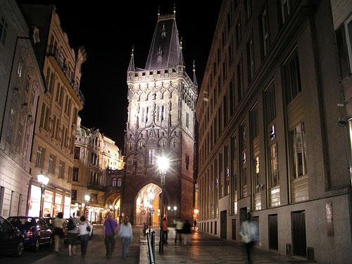 Tours du pont Charles Prague