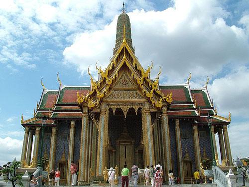 Temple du Bouddha d Emeraude Bangkok
