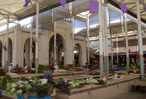 Marché central Tunis