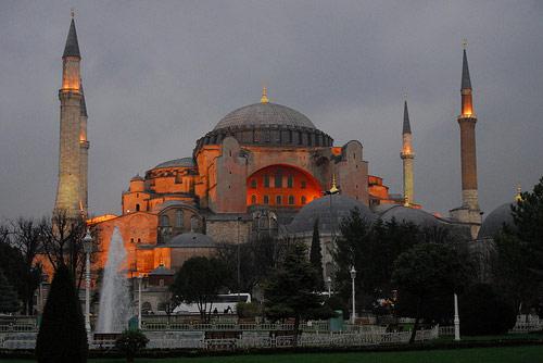 Basilique Sainte-Sophie Istanbul