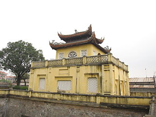 La cité impériale de Thang Long-Hanoï